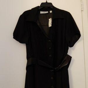 Avenue black dress w/belt